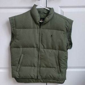 Browning vest puffer